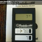 Radiation level readings