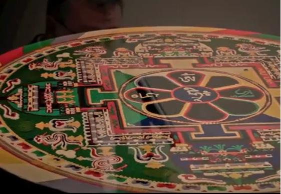 Sand Mandala talk