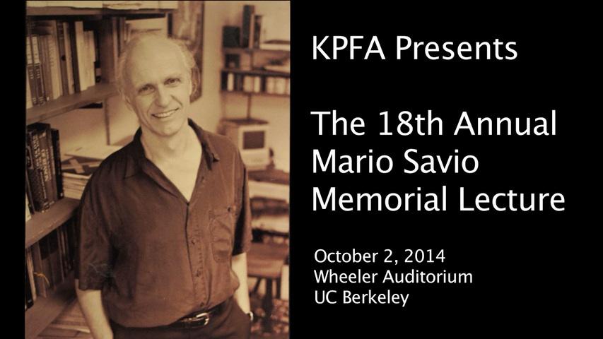 KPFA Mario Savio-poster