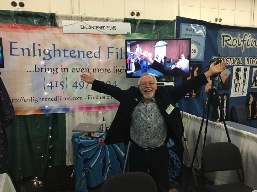 Enlightened Films booth Ed